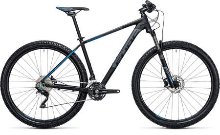 Cube Attention Black`n`Blue Mountainbike 29 inch