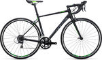 Cube Attain Black`n`Green Racefiets