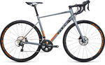 Cube Attain Race Disc Grey`n`Flashorange Racefiets