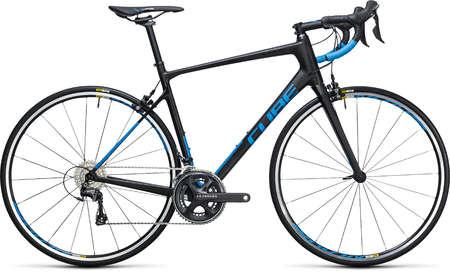 Cube Attain GTC Race Carbon`n`Blue Racefiets