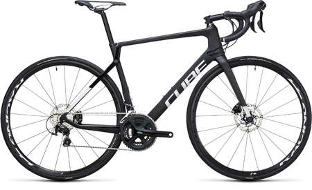 Cube Agree C:62 Disc Carbon`n`White Racefiets