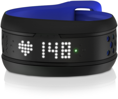 picture Fuse Activity Tracker Donkerblauw