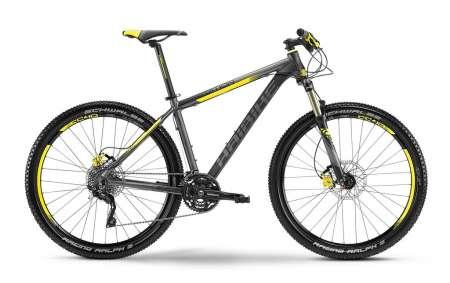 Haibike Edition RX 27.5 Mountainbike Grijs/Zwart/Geel
