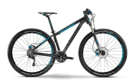 Haibike Big Curve RX 29 Mountainbike Zwart/Grijs/Blauw
