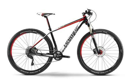 Haibike Light RC 29 Mountainbike Carbon/Wit/Rood