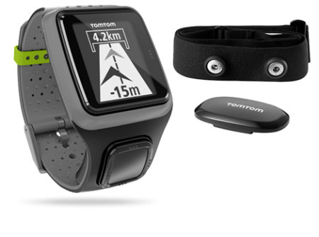 TomTom Runner HRM GPS-sporthorloge Grijs