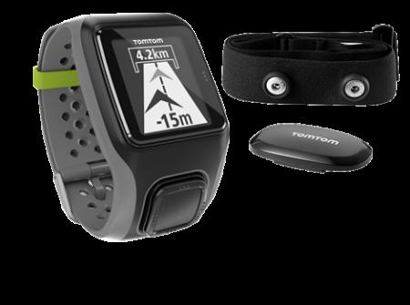 TomTom Multi-Sport HRM GPS-sporthorloge Grijs
