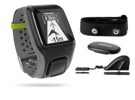 TomTom Multi-Sport HRM+CCS+AM GPS-sporthorloge Grijs