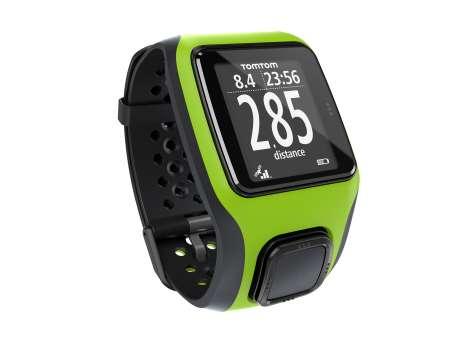 TomTom Multi-Sport GPS-sporthorloge Groen