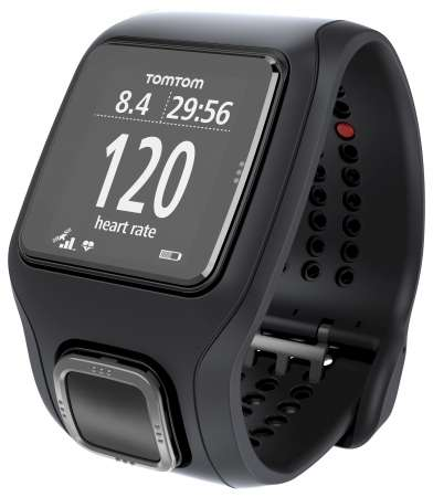 TomTom Runner Cardio GPS-sporthorloge Zwart