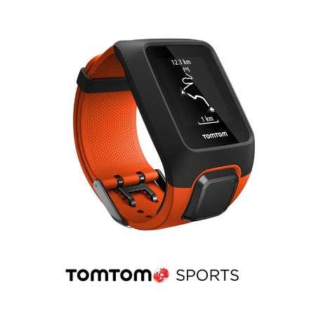 picture Adventurer Cardio + Music GPS-horloge Oranje/Zwart