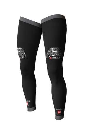 picture Full Leg Compressie Beenstukken Zwart