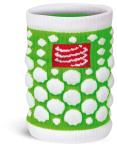 Compressport Zweetband 3D.Dots Fluo Groen