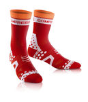 Racing Ultralight Bike Compressiesokken Rood