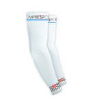 Compressport ArmFORCE Armwarmers Wit