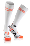 Compressport Full Socks v2.1 Compressiesokken Wit