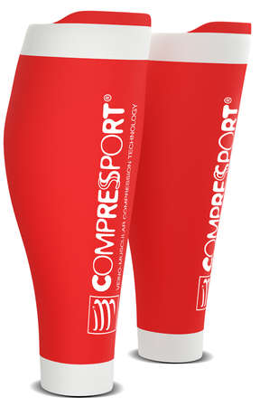 Compressport R2 v2 Compressiekousen Rood