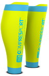 Compressport R2 v2 Compressiekousen Fluo Geel
