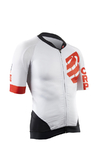 Compressport Cycling On/Off Fietsshirt Korte Mouwen Wit Heren