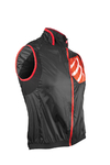 Compressport Cycling Hurricane WindProtect Windvest Zwart Unisex