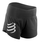 Compressport Racing Trail Run Overshort Zwart Dames