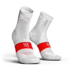 Compressport ProRacing V3.0 Ultralight Bike Compressiesokken Wit