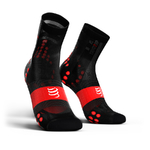 Compressport ProRacing V3.0 Ultralight Bike Compressiesokken Zwart/Rood