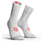 Compressport ProRacing V3.0 Bike Compressiesokken Smart Wit