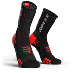 Compressport ProRacing V3.0 Bike Compressiesokken Zwart/Rood