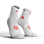 Compressport ProRacing V3.0 Run Hi Compressiesokken Smart Wit