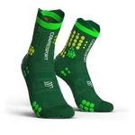 Compressport ProRacing V3.0 Trail Compressiesokken Groen/Geel