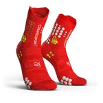 Compressport ProRacing V3.0 Trail Compressiesokken Rood/Wit