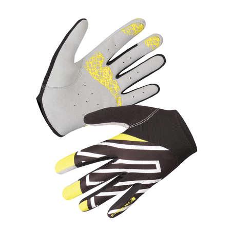 endura hummvee lite fietshandschoenen lange vingers geel. Black Bedroom Furniture Sets. Home Design Ideas