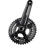 Turbine Crankset 10-speed 24/38 Zwart