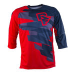 Race Face Indy Downhill Fietsshirt 3/4 Mouwen Flame Heren