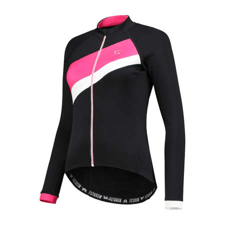 FUTURUM Jersey Long Sleeve Mara Black/Pink