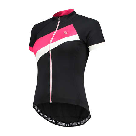 FUTURUM Jersey Short Sleeve Mara Black/Pink