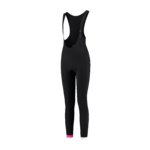 Bib tights Mara Black/Pink