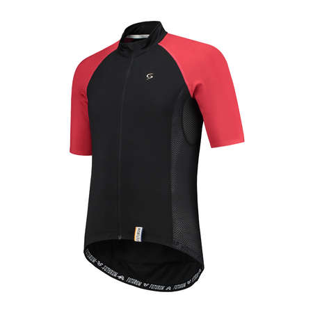 FUTURUM Jersey Short Sleeve Joris VII Black/Red