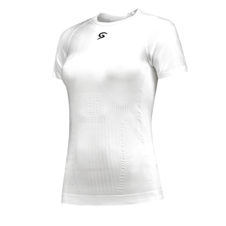 FUTURUM Base Layer Women Short Sleeve White