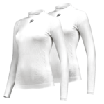 FUTURUM Base Layer Women Long Sleeve White 2-Pack