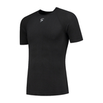 FUTURUM Base Layer Short Sleeve Extra Cool Black