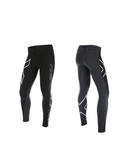 2XU G2 Wind Defence Thermal Compressiebroek Zwart/Zilver Heren