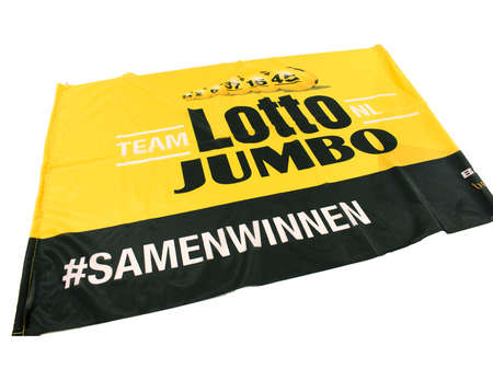 Team LottoNL-Jumbo Teamvlag
