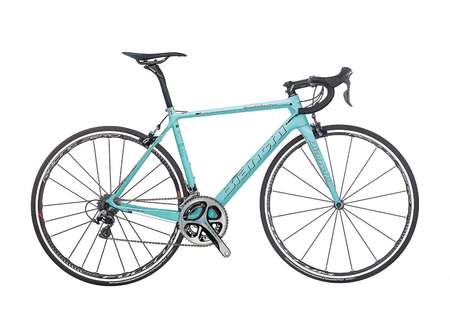 Bianchi Specialissima Dura Ace Racefiets Celeste